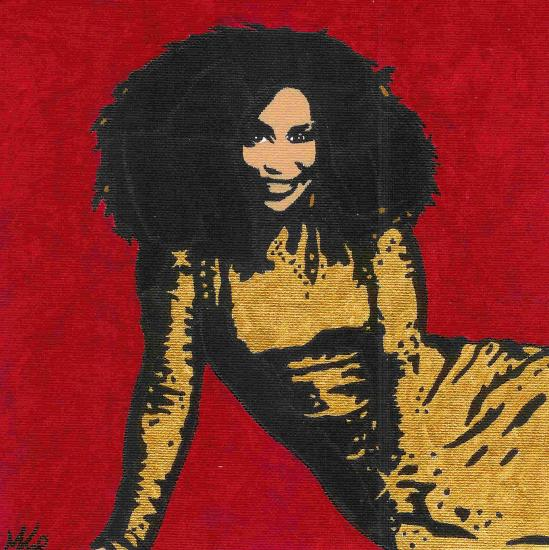 Chaka Khan by Monique
